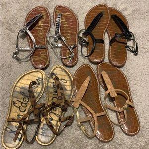 BUNDLE Sam Edelman Gigi sandals 8.5